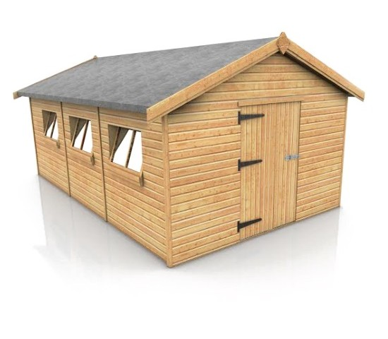 Cheap timber garages stables field shelters for sale for Cheap garages for sale
