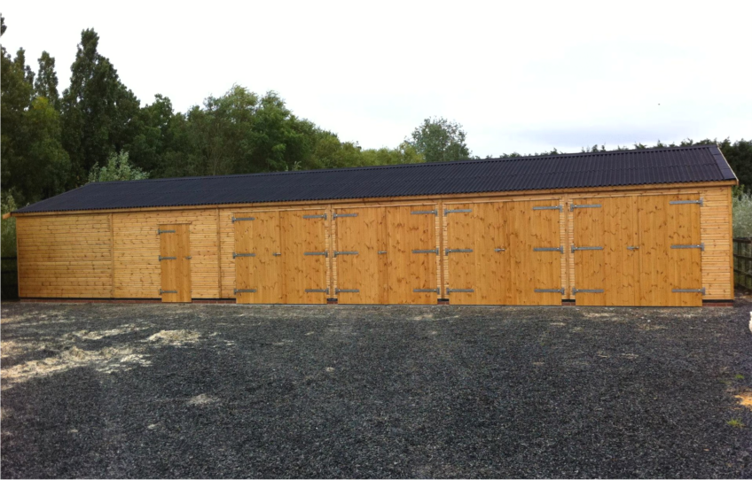 Cheap Timber Garages Stables Field Shelters For Sale