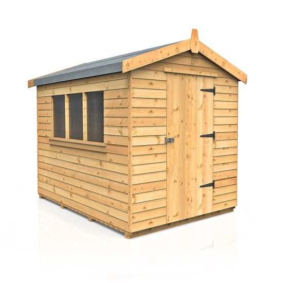 Garden Sheds Jarrow pendale apex garden shed sizes from (7'x5') - dsbuildings