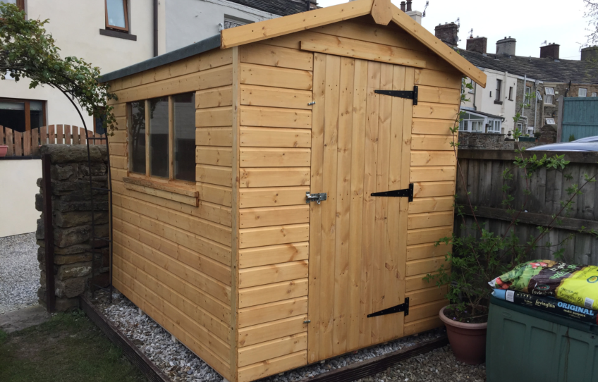 Garden Sheds Jarrow garden shed photo gallery - dsbuildings