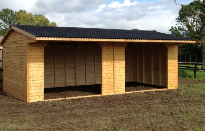 Banbury Timber Field Shelter Size 20 X12 Dsbuildings